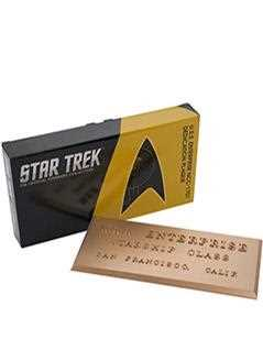 u.s.s. enterprise ncc-1701 (tos) dedication plaque - Star Trek Starships