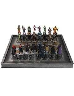complete batman chess set - DC Chess