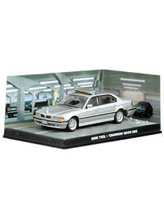 bmw 750il (tomorrow never dies) - James Bond Collections