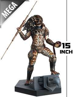 15-inch mega city hunter predator - Alien and Predator