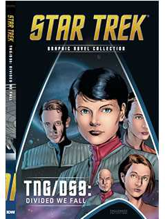 tng/ds9: divided we fall - Star Trek Graphic Novels