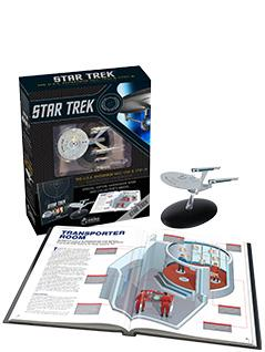 u.s.s. enterprise ncc-1701 & 1701-a illustrated handbook plus collectible - Star Trek Starships