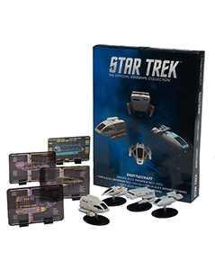 exclusive collector's set of star trek shuttles 1 - Star Trek Starships