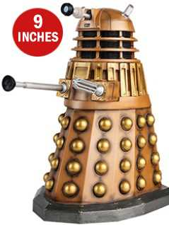 9-inch mega bronze dalek - Doctor Who Figurines Collection