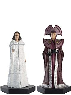 borusa and romana time lords set - Doctor Who Figurines Collection