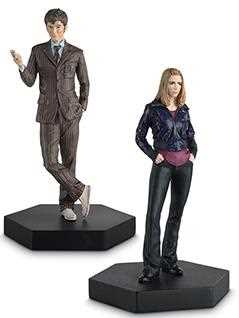 10th doctor & rose tyler companion set - Doctor Who Figurines Collection