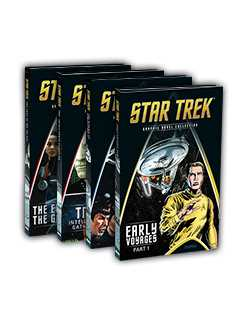 volumes 9-12 bundle - Star Trek Graphic Novels