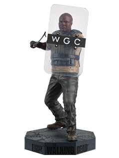 t-dog - The Walking Dead Collector's Models
