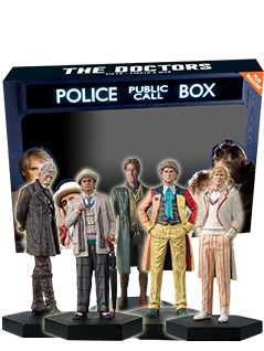 5 doctors set - Doctor Who Figurines Collection