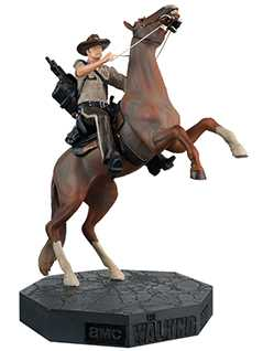 rick on horseback special edition - The Walking Dead Collector's Models