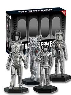 evolution of the cybermen set 2 - Doctor Who Figurines Collection