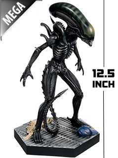 12.5-inch mega xenomorph - Alien and Predator