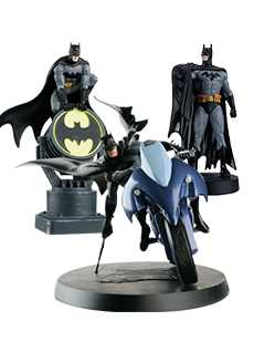 caped crusader bundle - DC Classic Figurines