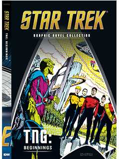 tng: beginnings - Star Trek Graphic Novels