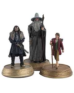 the king, the wizard & the burglar set - The Hobbit & Lord of the Rings